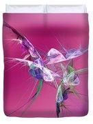 Hummingbird Fantasy Abstract Duvet Cover