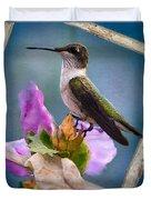 Hummingbird Picture Pretty Duvet Cover