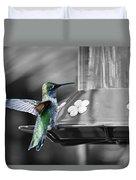 Hummingbird Wings II Duvet Cover