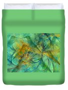 Hummingbirds Duvet Cover
