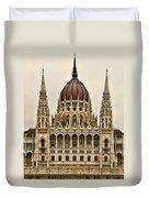 Hungarian Parliment Building Duvet Cover
