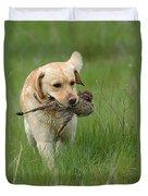 Hunting Dog Duvet Cover