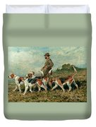 Hunting Exercise Duvet Cover