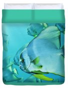 Hunting For Plankton, A School Duvet Cover