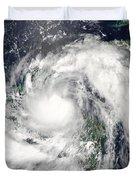 Hurricane Alex Duvet Cover