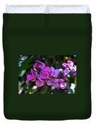 Hyacinth Bean Duvet Cover