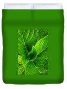 Hydrangea Leaves Duvet Cover