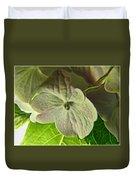 Hydrangea Macro Duvet Cover