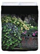 Hydrangeas Salzburg Duvet Cover