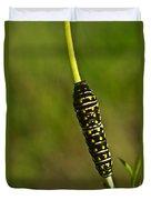 Hymenoptera Larva 2 Duvet Cover