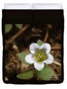 Hyoscyamus Flower Duvet Cover