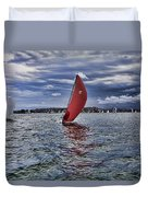 I Am Sailing V2 Duvet Cover