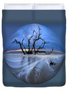 I Would Go To The Ends Of The Earth For You Duvet Cover