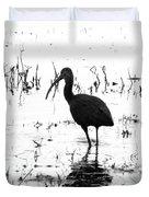 Ibis Pintail Drive Cameron Prairie Nwr Duvet Cover