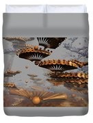 Icarus' New Wings Duvet Cover