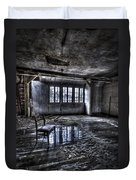 Ice Chair Duvet Cover by Nathan Wright
