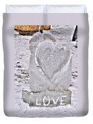 Ice Cold Love Duvet Cover