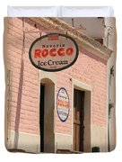 Ice Cream Shop In Todos Santos Duvet Cover