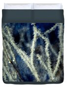 Ice Crystals - Abstract Duvet Cover