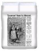 Ice Machine, 1891 Duvet Cover