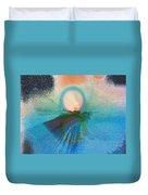 Ice Reflections Duvet Cover