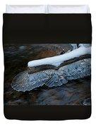 Ice Scallops Duvet Cover