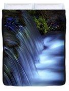 Ice Water Blue Duvet Cover