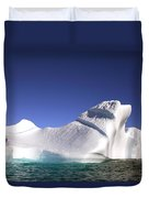 Iceberg In The Canadian Arctic Duvet Cover by Richard Wear