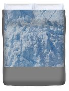 Icebergs Calving From Chenaga Glacier Duvet Cover