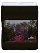 Icee Pink Cold Water Challenge Duvet Cover