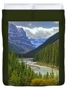 Icefields Parkway Duvet Cover