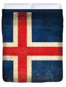 Iceland Flag Duvet Cover