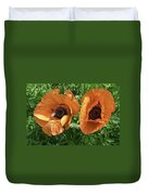 Iceland Poppies Duvet Cover