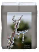 Icy Branch-7529 Duvet Cover