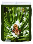 Icy Pine 1 Duvet Cover