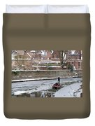 Icy River Duvet Cover