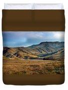 Idaho Foothills Duvet Cover