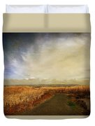 If I Could See Into The Future Duvet Cover