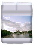 Notre Dame Paris Duvet Cover