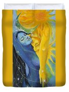 Ilusion From Impossible Love Series Duvet Cover by Dorina  Costras