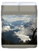 Image Of Doubtful Sound, New Zealand Duvet Cover