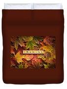 Imagine-autumn Duvet Cover