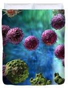 Immune Response Cytotoxic 3 Duvet Cover