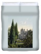 Imperial Castle In Alupku -ie Alupka -  Crimea - Russia - Ukraine Duvet Cover