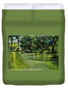 Impressions Of Ooty Lake 1 Duvet Cover