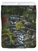 In A Country Garden Duvet Cover