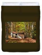 In Autumn Woods Duvet Cover by Steve Harrington