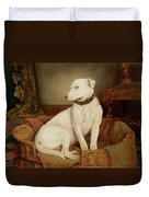 In Disgrace Duvet Cover by William Woodhouse
