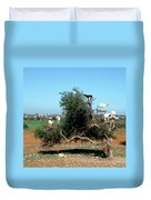 In Morocco Goats Grow On Trees Duvet Cover