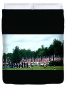 In Remembrance Of 9-11 Duvet Cover